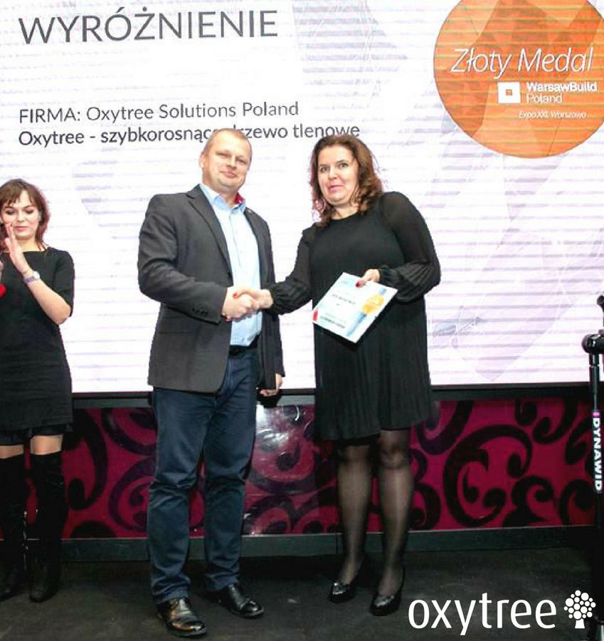 Mamy złoto! Złoty Medal dla Oxytree Solutions Poland!