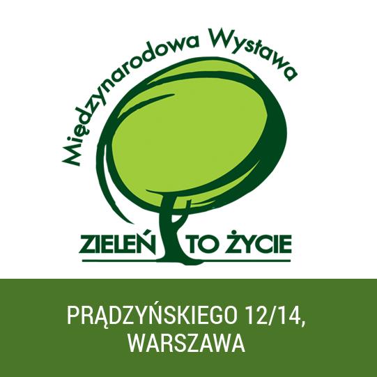 Oxytree na targach ZIELEŃ TO ŻYCIE w Warszawie!